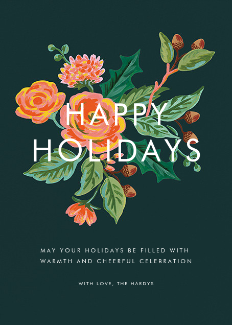 Jardin Noel (Holiday Greeting) - Rifle Paper Co.
