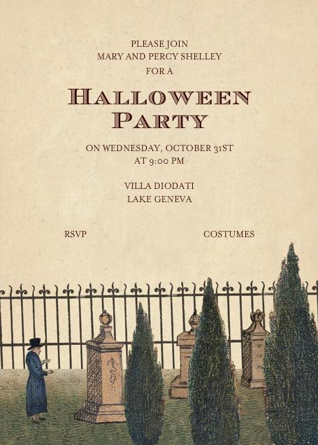 Graveyard Scene - John Derian - Halloween