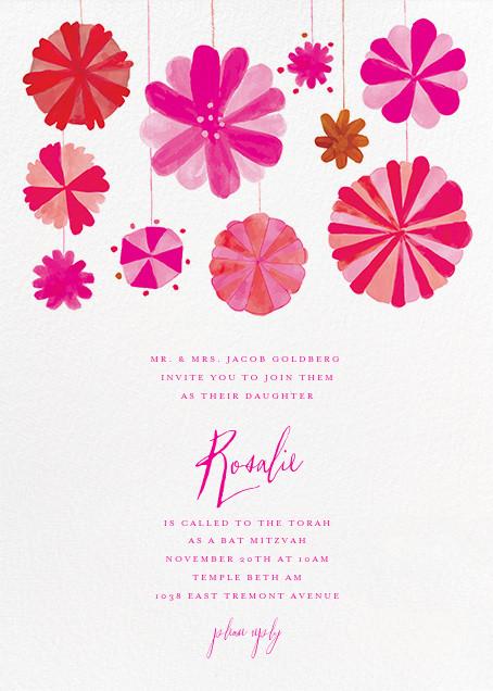 Blow Up the Balloons - Pink - Mr. Boddington's Studio - Bat and bar mitzvah