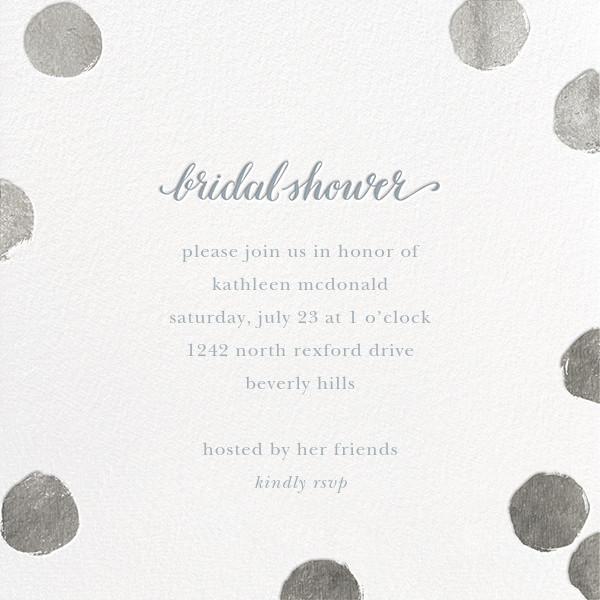 Big Dot Bridal - Silver - Sugar Paper - Bridal shower