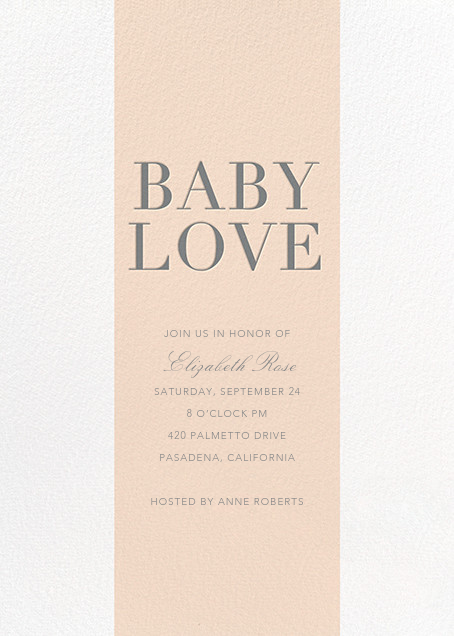 Baby Stripe - Pink - Sugar Paper - Baby shower