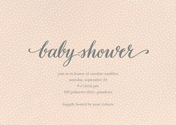 Baby Flurry - Pink - Sugar Paper - Baby shower