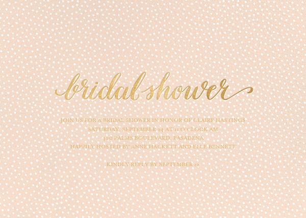 Bridal Flurry - Pink - Sugar Paper - Bridal shower