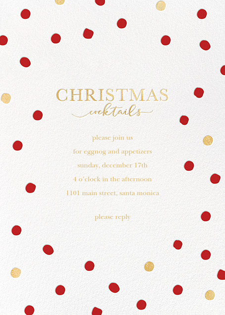 Christmas Spots - Sugar Paper - Christmas party