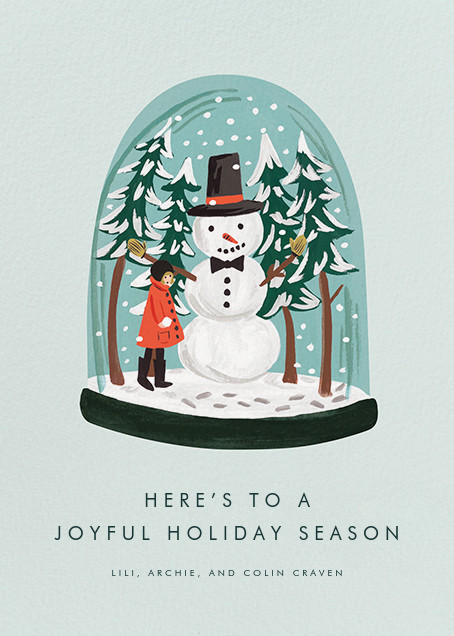 Global Citizen - Rifle Paper Co. - Holiday cards