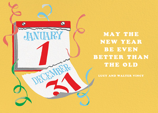 New Year, New Leaf - Paperless Post - New Year