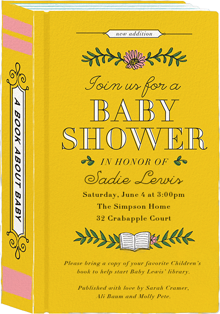 Chapter One - Cheree Berry - Baby shower