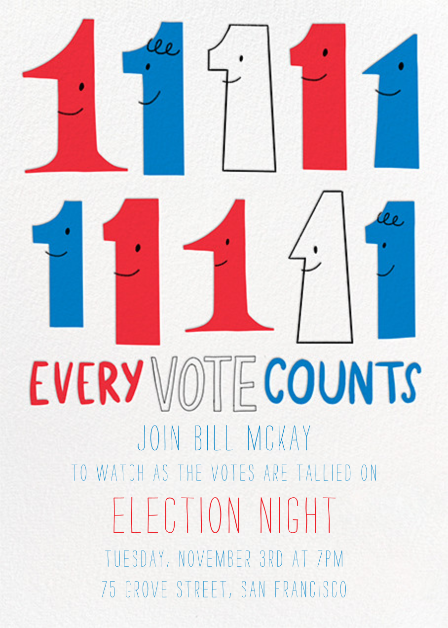 Every Vote Counts - Hello!Lucky