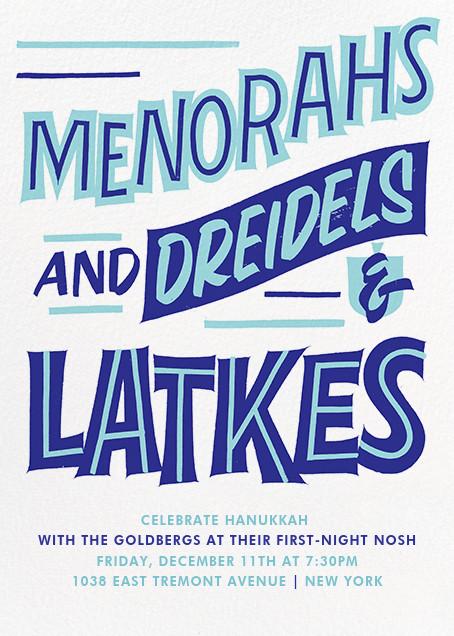 Hanukkah Highlights - Paperless Post - Hanukkah