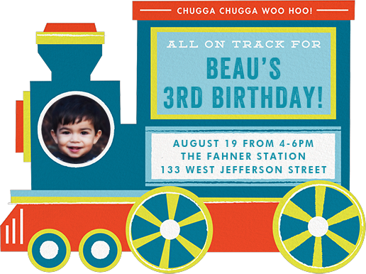 All Aboard - Cheree Berry - Kids' birthday