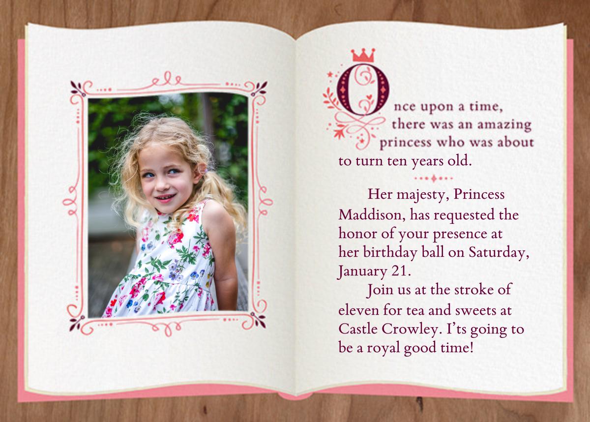 Fairy Tale Fete - Woodgrain - Cheree Berry Paper & Design - Kids' birthday