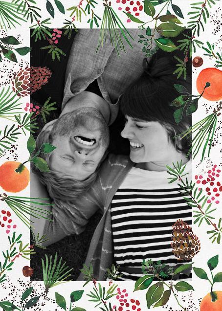 Holiday Market (Tall Photo) - Happy Menocal - Holiday cards