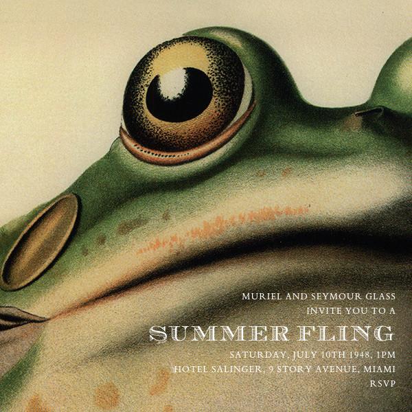 Frog - John Derian - Summer entertaining