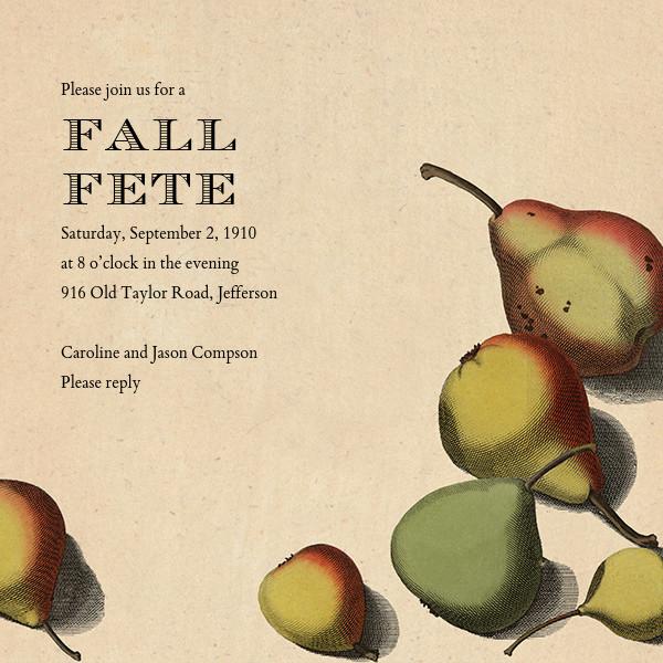Pear Arrangement - John Derian - Autumn Favorites