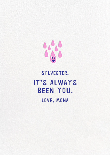 Love Stings - Hello!Lucky - Valentine's Day - card back