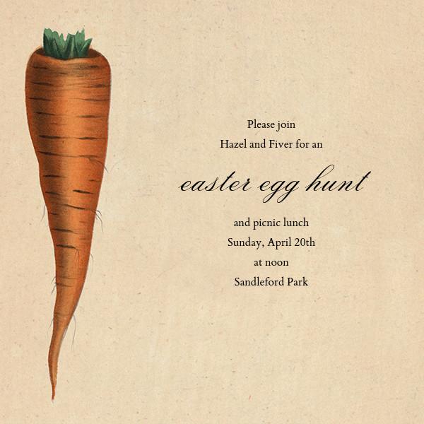 Carrot - John Derian - Easter