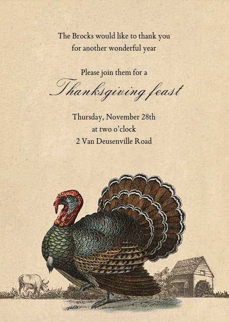 Turkey and Farm - John Derian - Thanksgiving