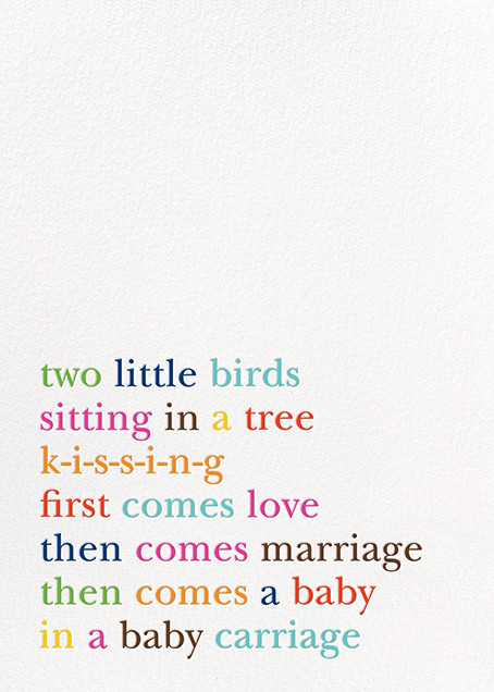 Type Story - kate spade new york - Birth