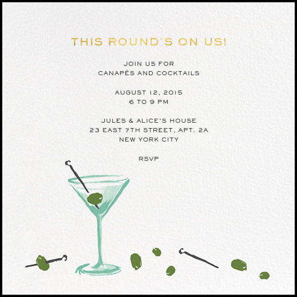 More Olives - kate spade new york - Cocktail party