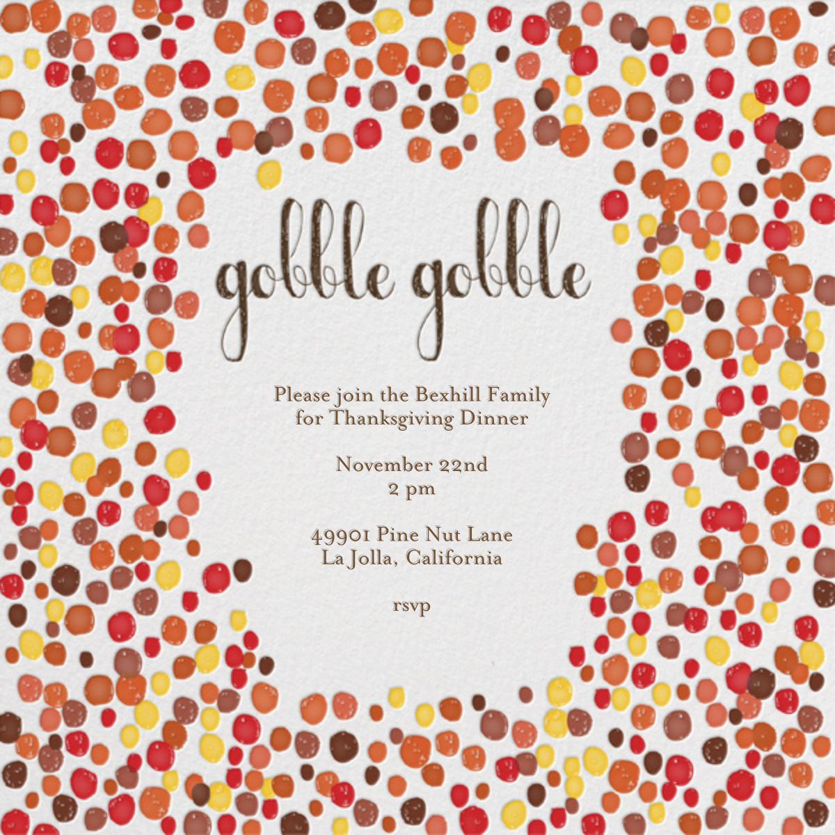 Gobble Gobble - Brights - Mr. Boddington's Studio - Thanksgiving