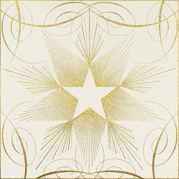 Star - Gold - John Derian - New Year's Eve