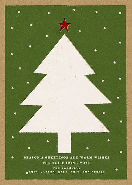 Holiday Tree - Paperless Post - Christmas