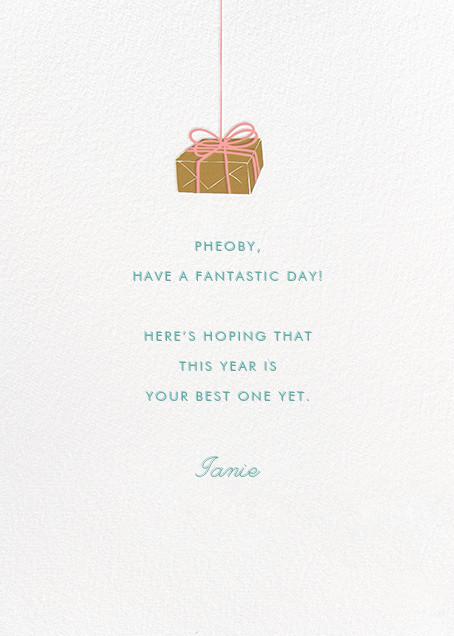 Parcel - Lagoon - Paperless Post - Birthday - card back