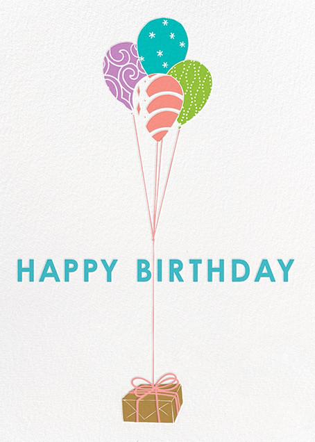 Parcel - Lagoon - Paperless Post - Birthday