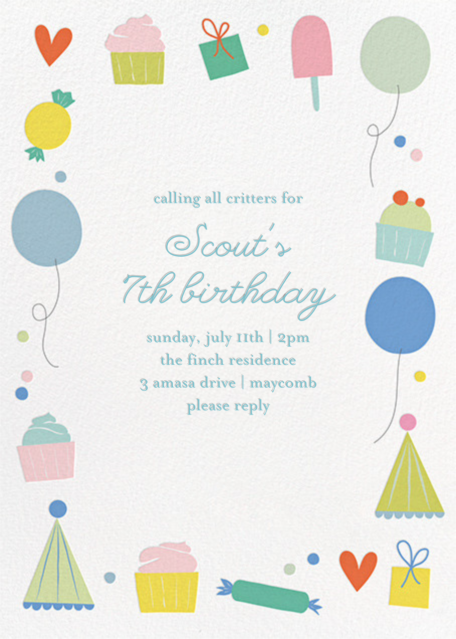 Sweet Celebration - Little Cube - Kids' birthday