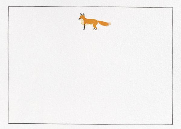 Mister Fox - Paperless Post - Notecards