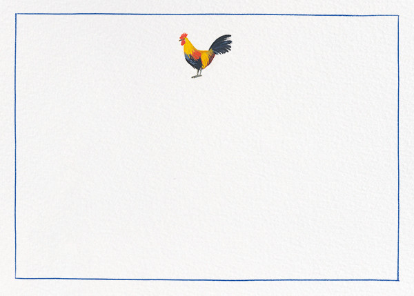 Red Rooster - Paperless Post - Notecards