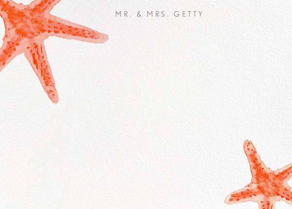 Sea Star - Paperless Post - Wedding stationery