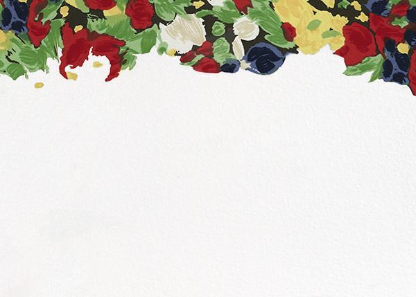 Isabela Floral (Horizontal) - Oscar de la Renta - Wedding