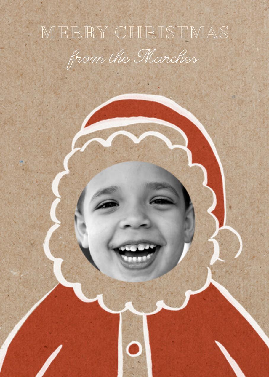 Santa Doodle - Paperless Post - Christmas