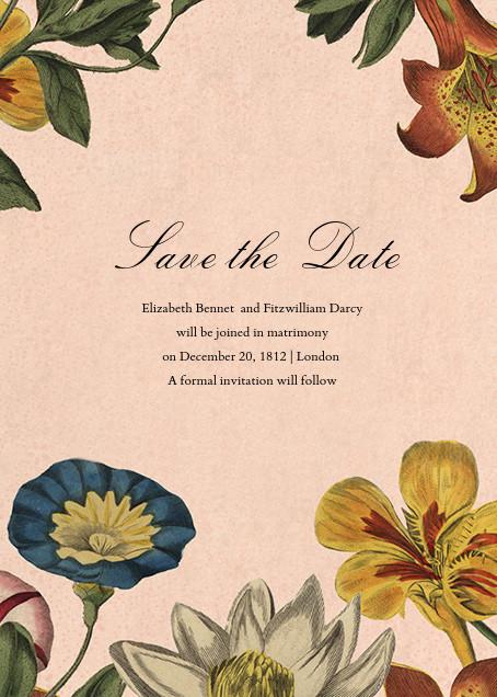 Botanica (Save the Date) - John Derian - Save the date