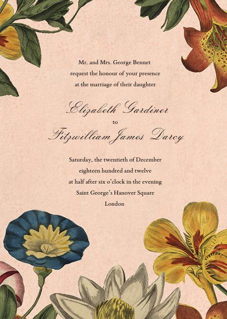 Botanica (Invitation) - John Derian - All