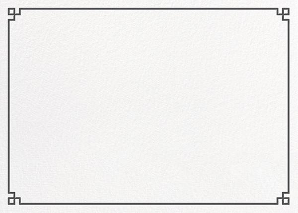 Nixon Border (Stationery) - Jonathan Adler - Notecards