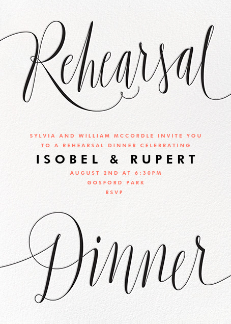 Plume d'Oie - Paperless Post - Printable invitations