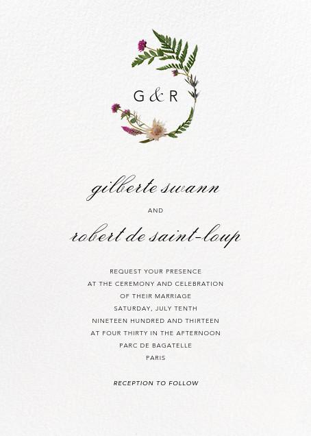 Petites Fleurs Sauvage (Invitation) - Paperless Post - All