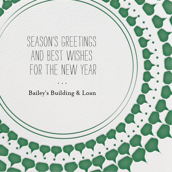 Ra Ra Christmas - Forest - Mr. Boddington's Studio - Business holiday cards