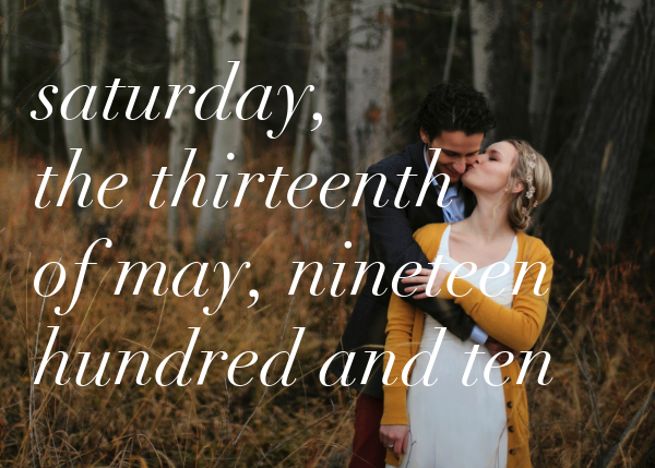 Full-Page Photo (Two-Sided Horizontal) - Ivory - Paperless Post - Save the date