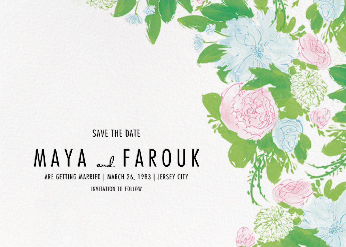 Elizabeth (Save the Date) - Paperless Post - Save the date