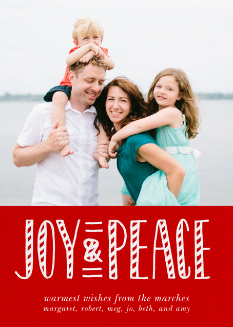 Joy and Candy Canes - Paperless Post - New Year