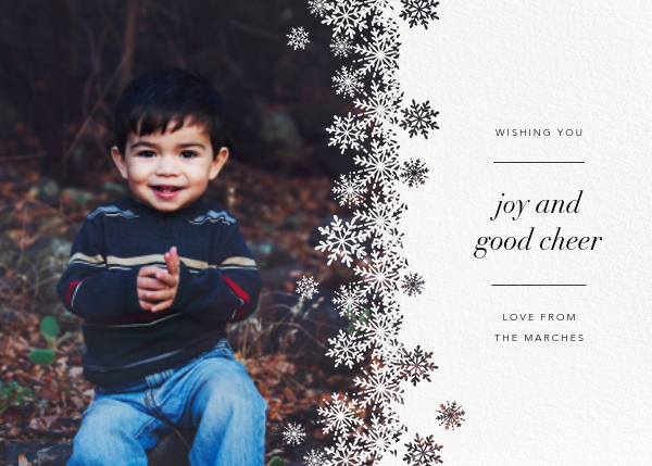 Crystalline - Paperless Post - Holiday cards