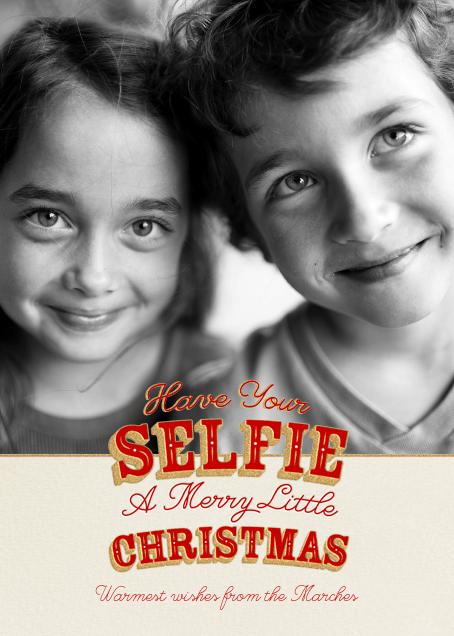 A Selfie Little Christmas - Paperless Post - Christmas