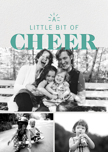 Beacon of Cheer - Green - Paperless Post - Holiday cards