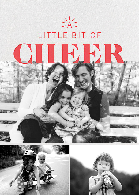 Beacon of Cheer - Red - Paperless Post