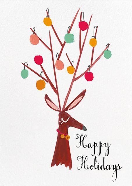 There's a Reindeer at the Door (Greeting) - Mr. Boddington's Studio