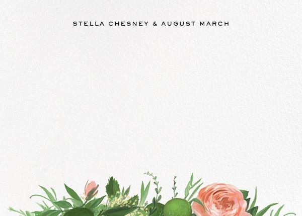 Gramercy Garden (Stationery) - Paperless Post - Personalized stationery
