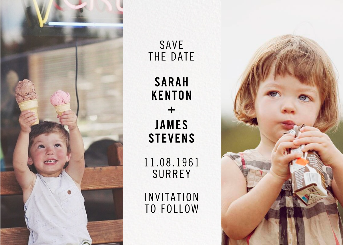 Then and Now - Paperless Post - Printable invitations